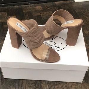 Size 5.5 STEVE MADDEN Romy Taupe - NEW